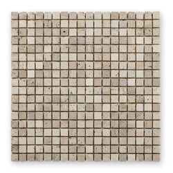 Bärwolf AM-0003 mozaika kamienna - marmur/trawertyn 30,5 x 30,5 cm