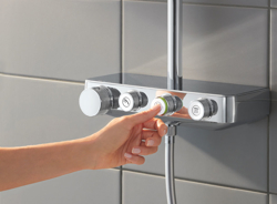 Grohe Euphoria SmartControl 310 Cube DUO - zestaw prysznicowy z baterią termostatyczną