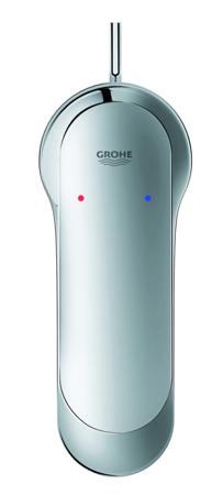 Grohe Eurosmart Cosmopolitan S - bateria umywalkowa stojąca bez korka