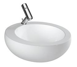 Laufen Alessi One  - umywalka nablatowa 52 cm bez otworu