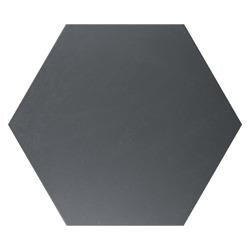 Quintessenza Alchimia Esagono Nero - płytka ceramiczna heksagonalna