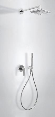 Tres Class - zestaw prysznicowy z baterią podtynkową